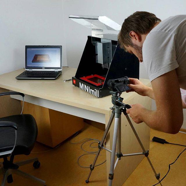 #MakingOf #pcbmilling #minimilled #OnSet #ShortFilm #productvideo #qbot #MINImill #CNC