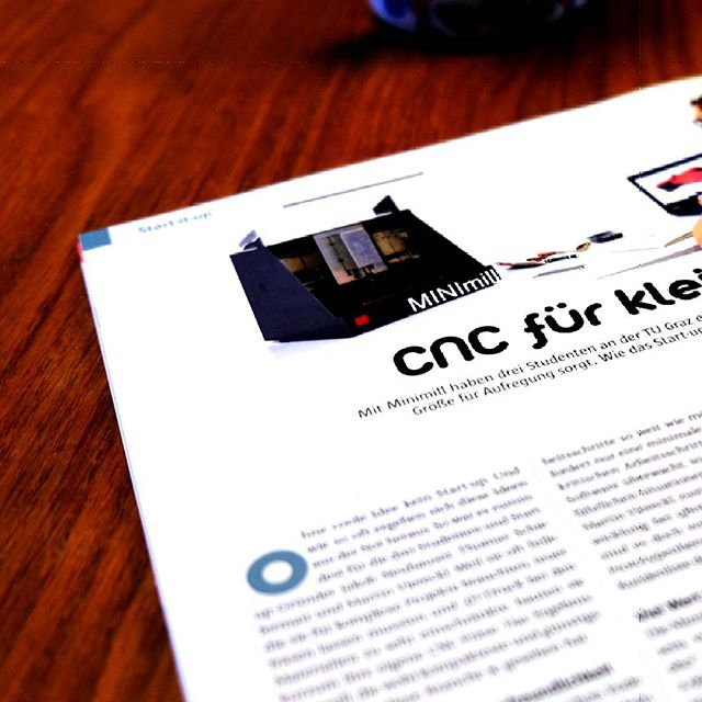 Thanks for this awesome article https://factorynet.at/a/minimill-grazer-start-up-will-mit-minifraese-cnc-fraesen-guenstiger-machen #FACTORY #startup #qbot #thanks #MINImill #minimilled #gadget #cnc #cncmilling #pcbmilling #pcbmill #technology #techie #instalab #instamachinist #makersgonnamake #makersmovement #diycnc #grbl