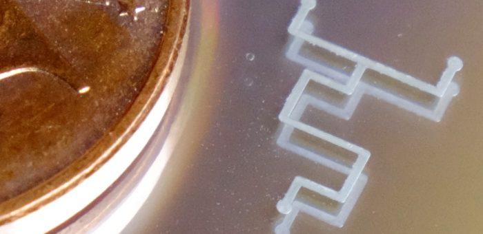 Mixer, 100µm trace width