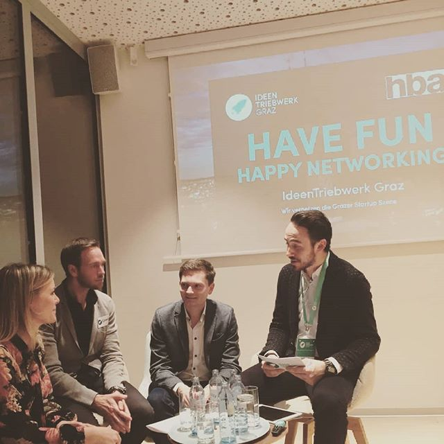 Let's talk - Trademark and Patents, we had an interesting panel discussion about Patents, Trademarks and Start-ups #proud #startuplife #ideentriebwerkgraz #qbot #hba
