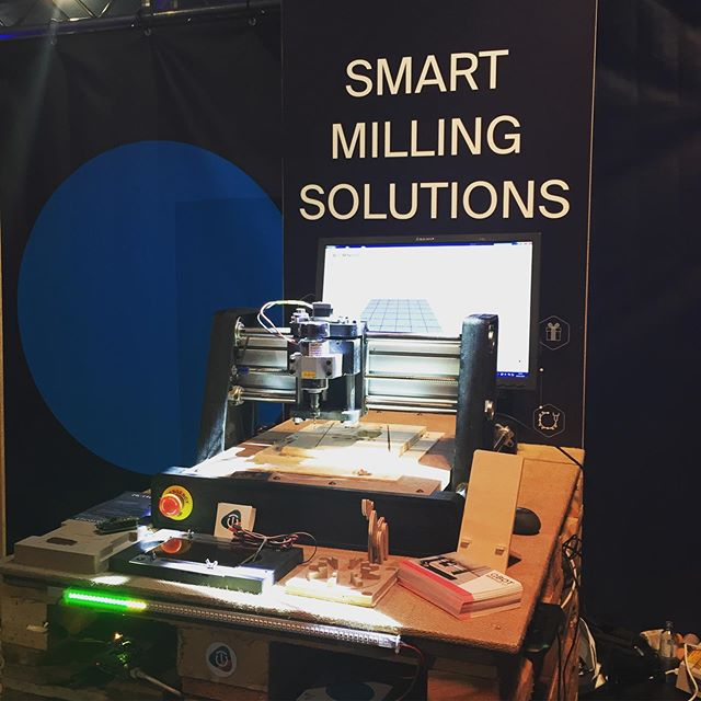 Meet the QBOT MINImill at the Fifteen Seconds Festival #fifteenseconds #minimill #startup